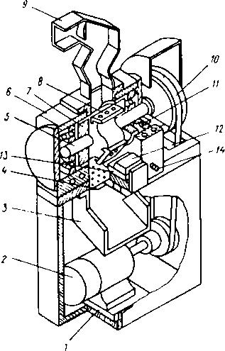 Конструкция роторноножевого