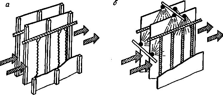 Схема электрофильтра