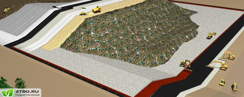 Полигон по переработке мусора