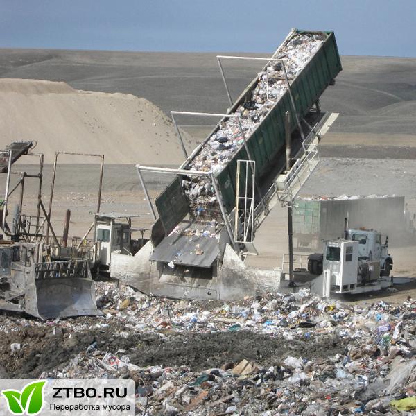 Информация о переработке мусора